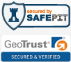 logo safepit & geotrust