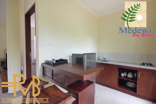 Medewi Bay Retreat Bali - Studio Deluxe, Kitchen