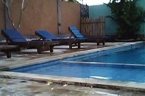 Balangan Garden Bungalow Bali - kolam renang diluar ruangan
