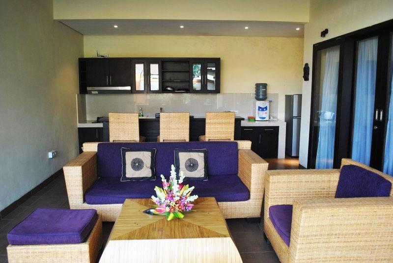 Tanjung Lima Villas Bali - Living Room