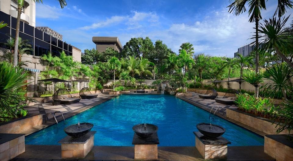 Sari Pan Pacific Jakarta Jakarta - Pool