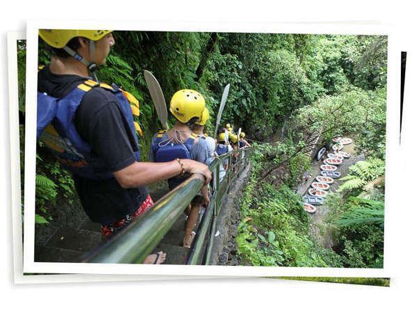 Elephant Safari Park Bali - 3 arung jeram