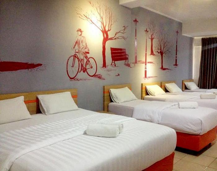 Maple House Lembang - room