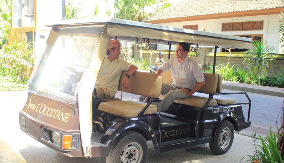 Kupu-Kupu Jimbaran Bali - Buggy Transfer ke pantai