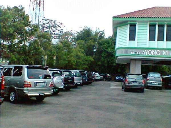 Hotel Ayong Linggar Jati - Parking Lot