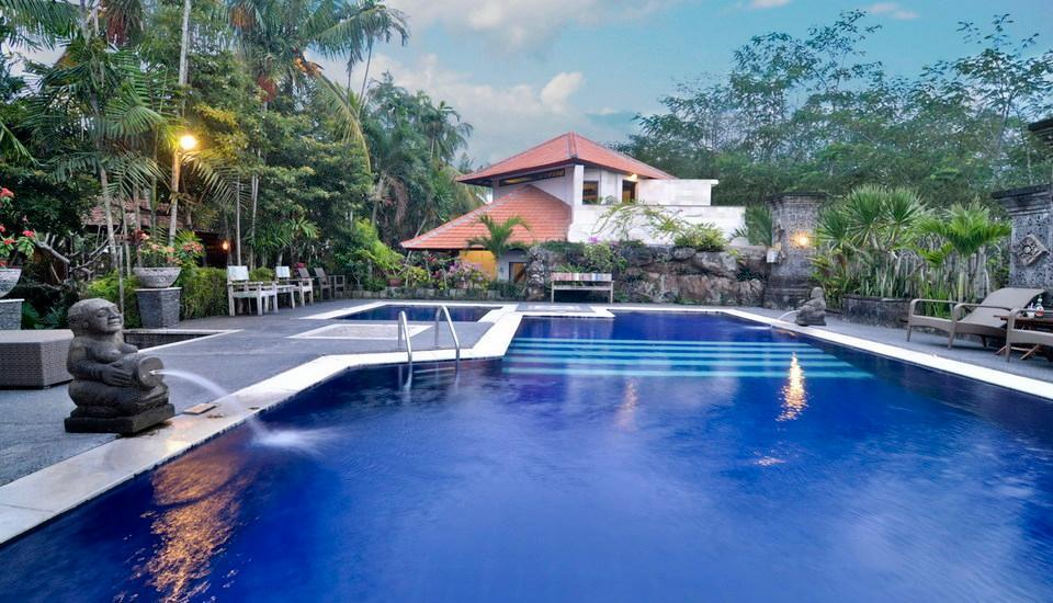 Taman Harum Cottages Bali - swimming pool