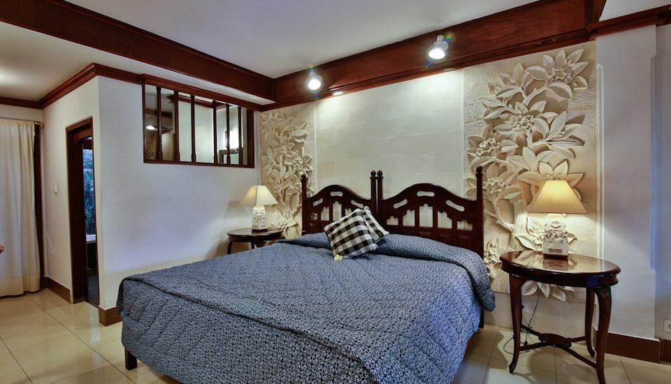 Taman Harum Cottages Bali - Deluxe Garden View Special Promo 46% OFF - Non Refund