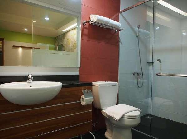 Hotel Bed andBreakfast Surabaya - Kamar mandi