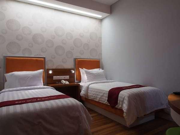 Hotel Bed andBreakfast Surabaya - Kamar Deluxe Twin Regular Plan