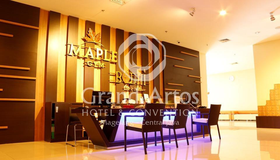 Hotel Grand Artos Magelang - Maple Gym & Bodhi Spa - Reception Desk
