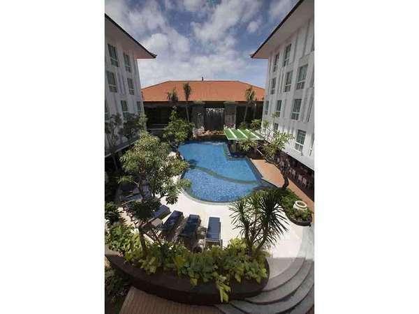 Bintang Kuta Hotel Bali - Bird View