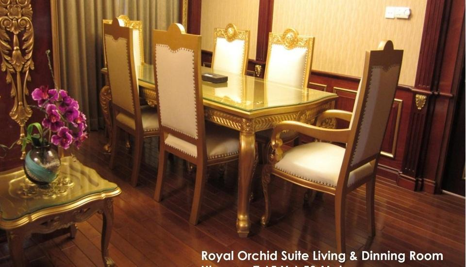 Grand Orchid Solo - Ruang makan Royal Orchid Suite