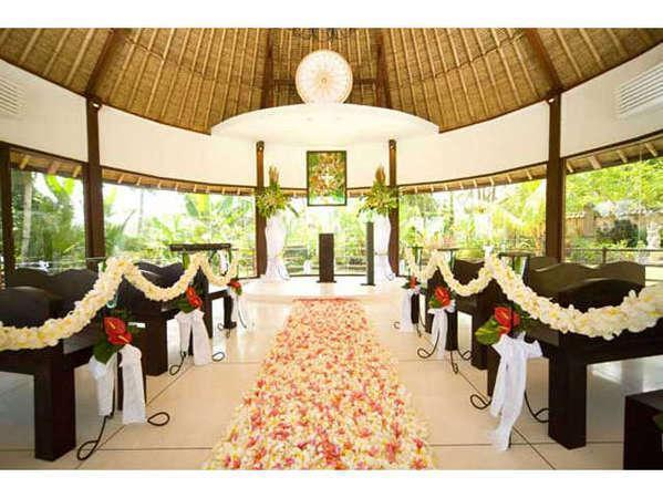 Puri Taman Sari Bali - Inside The Bale Kambang - Wedding Chapel