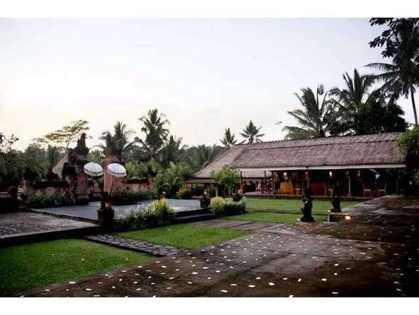 Puri Taman Sari Bali - Stage at The Restaurant