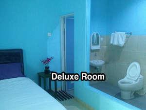 Bali Contour Bali - Glass Bathroom Deluxe Room