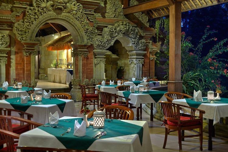 Tjampuhan Hotel Ubud - Dining Area