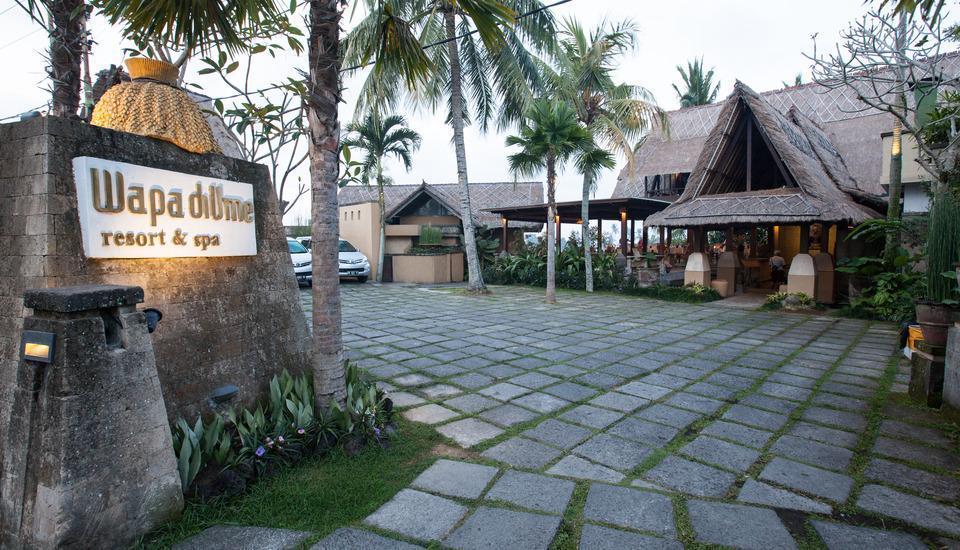 Wapa di Ume Bali - Main Entrance