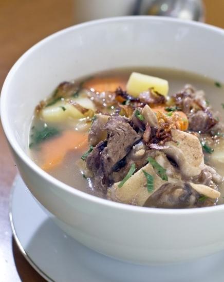 Griya Sentana Hotel Yogyakarta - soup buntut,favorit menu at resto