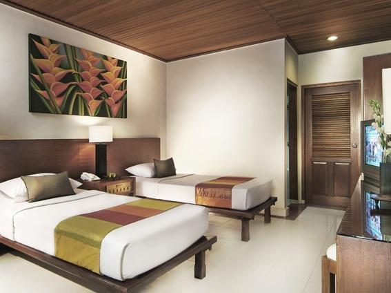 Wina Holiday Villa Kuta - Deluxe Twin or Double Regular Plan
