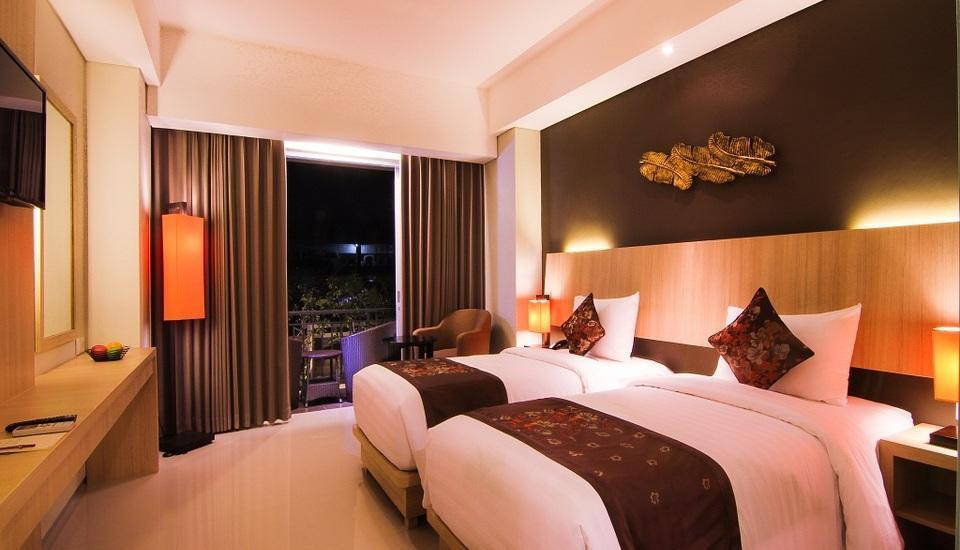 The Kana Kuta Hotel Bali - Deluxe Balcony with Buffet Breakfast Last Minute Special Rate includes 46% discount