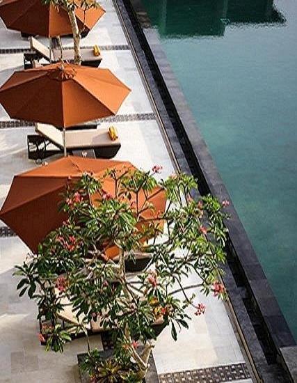 The Kana Kuta Hotel Bali - Pool from Top