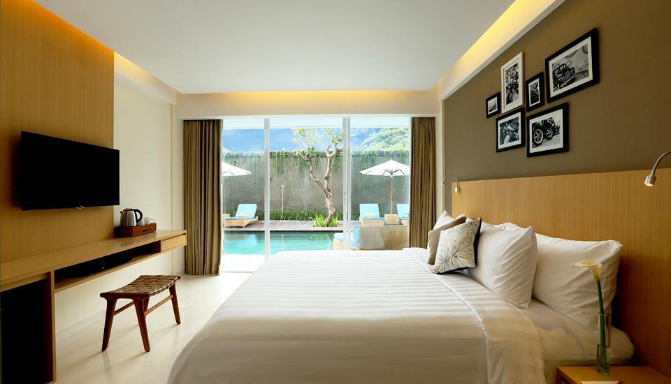 Ossotel Legian Bali - Deluxe Room Only Last Minute Promo