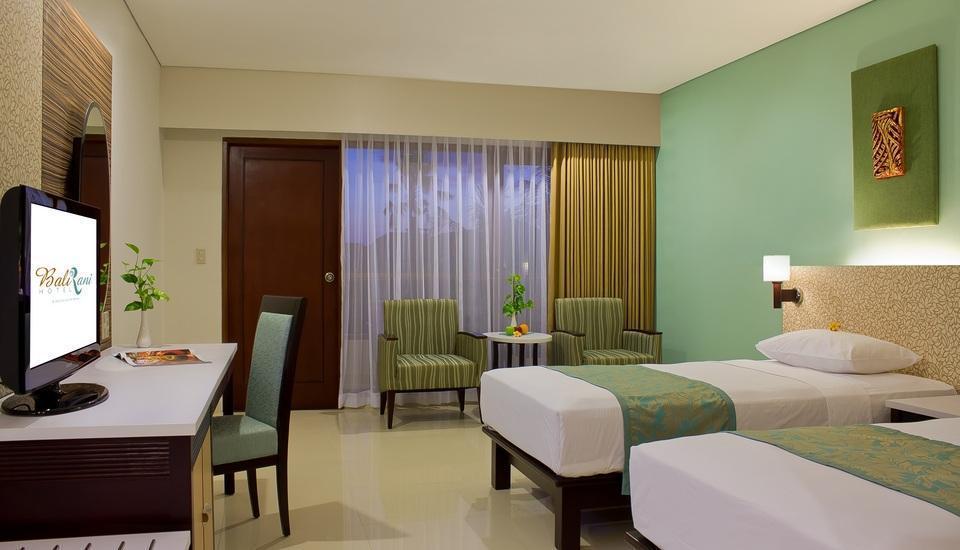 Bali Rani Hotel Bali - Deluxe Room Non Refundable Regular Plan