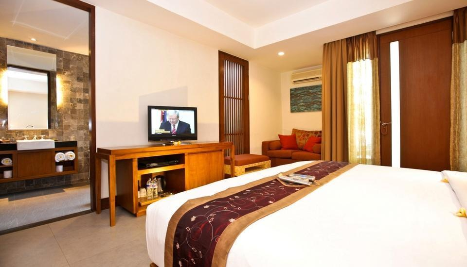 Rama Garden Hotel Bali - Deluxe Studio Second Floor Room Only (Double/Twin) Special Promo 40% OFF
