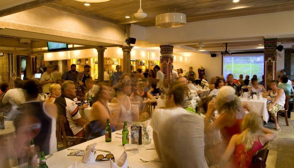 Rama Garden Hotel Bali - Restaurant and Sports Bar