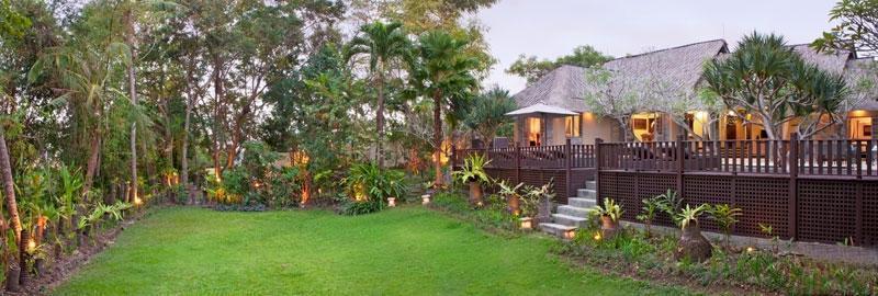 The Puri Shanti Villas Bali - Tampilan Luar