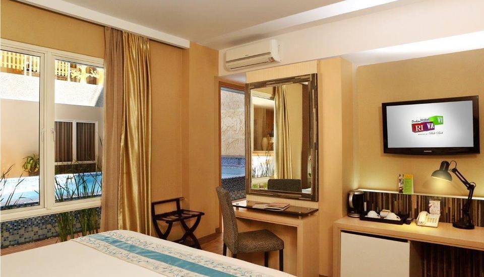 Rivavi Fashion Hotel Bali - Suite Room  Last Minute Deal Diskon 50% No Refund