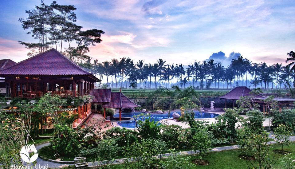 Bhuwana Ubud Hotel Bali - Area Surroundings