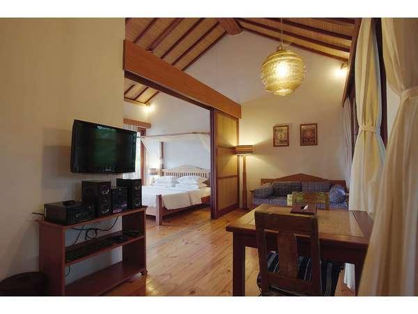 The Studio Bali - Budget Villa Living Area