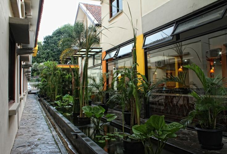 Grha Ciumbuleuit Guest House Bandung - Garden