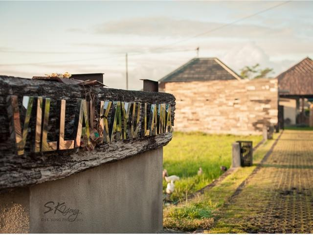 Villa Kayu Lama Bali - Front View