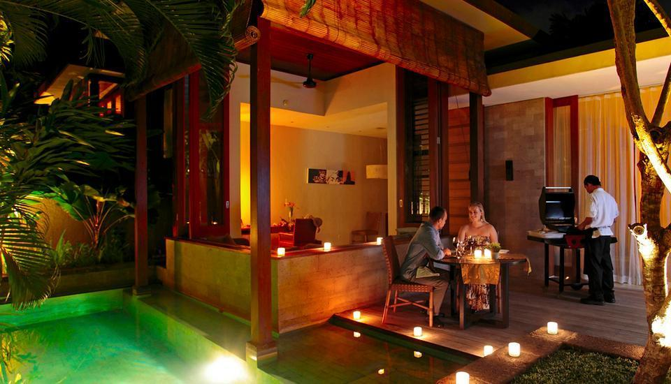 The Elysian Seminyak - In-Villa Romantic Dinner Service