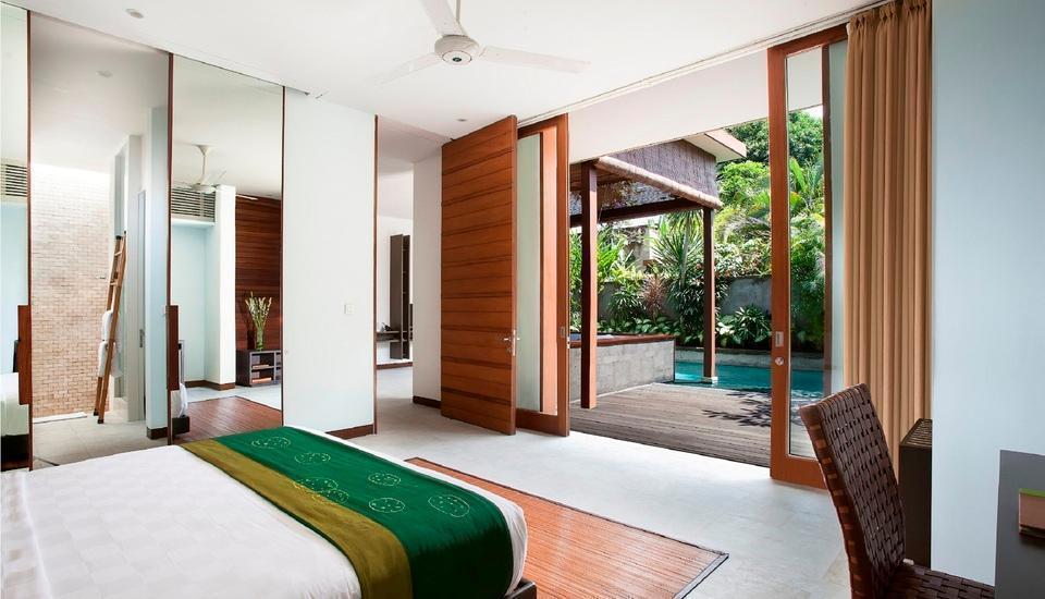 The Elysian Seminyak - bedroom at One Bedroom Villa