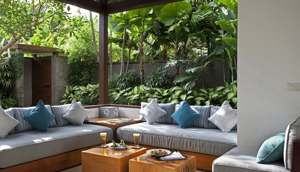 The Elysian Seminyak - Living room at One Bedroom villa