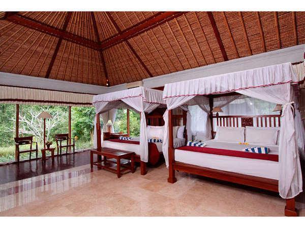 Santi Mandala Ubud - family garden room
