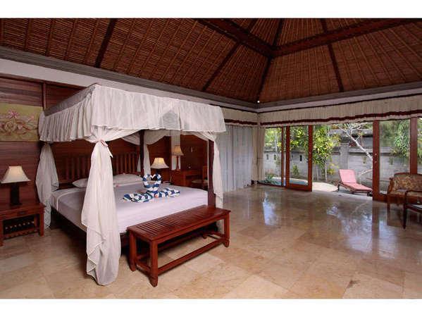 Santi Mandala Ubud - plunge pool