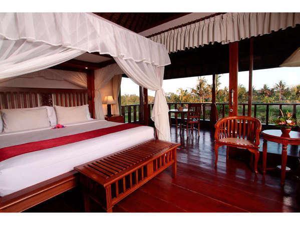 Santi Mandala Ubud - luxury pool villa 2 br room