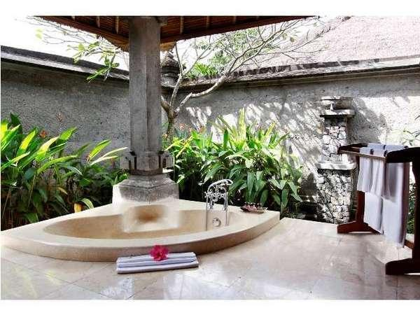Santi Mandala Ubud - Plunge pool villa - kamar mandi