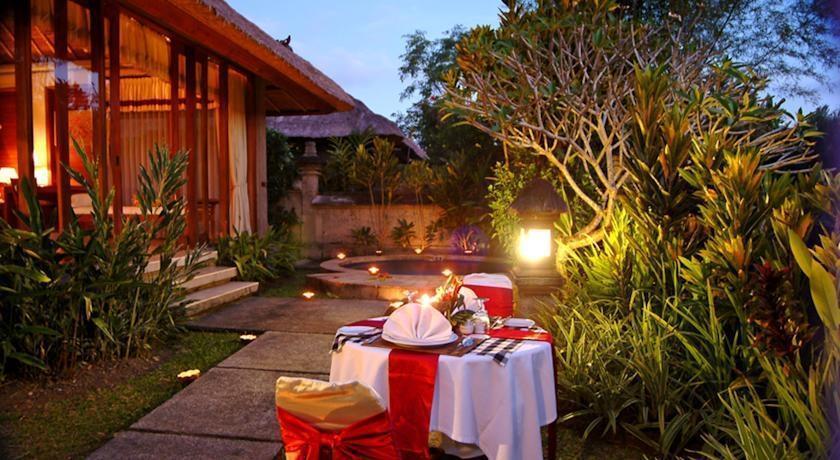 Santi Mandala Ubud - dinner