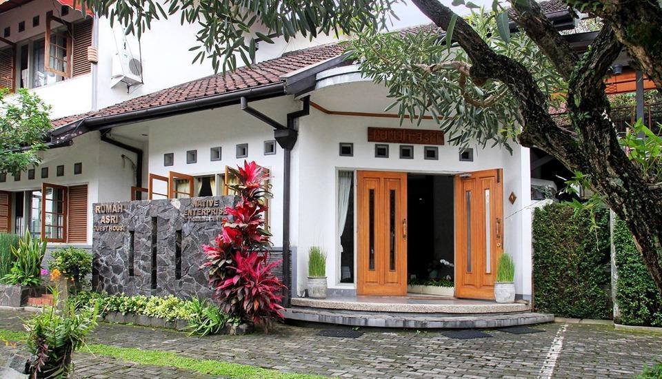 Rumah Asri Bandung - Tampak Depan