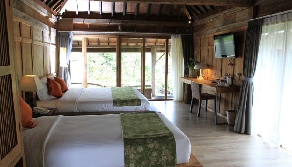 Rumah Batu Villa Solo - Kamar Tamu