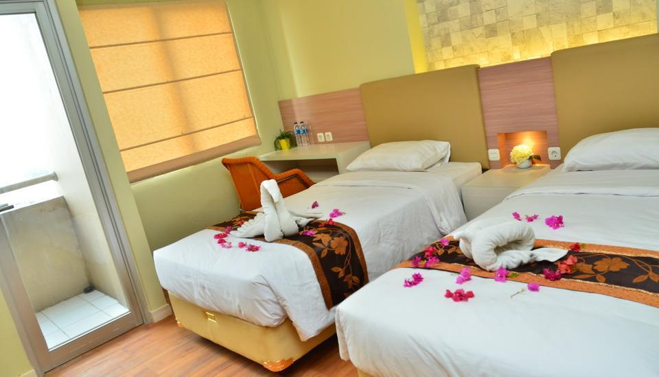 Centro City Service Apartment Jakarta - Twin Bed Room