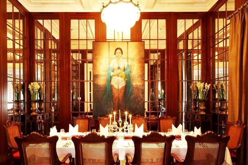 Hermitage Hotel Jakarta - Ruang makan pribadi