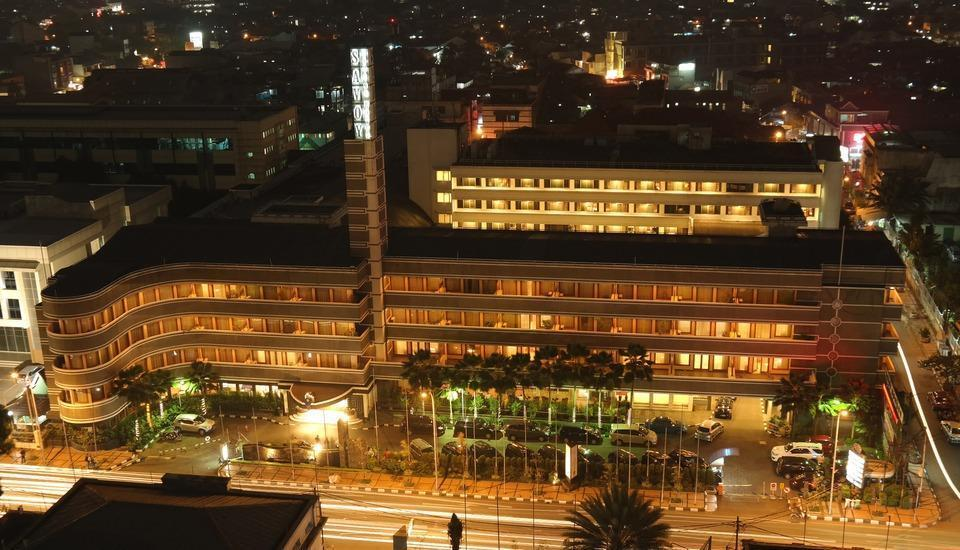 Savoy Homan Bandung - Savoy at night