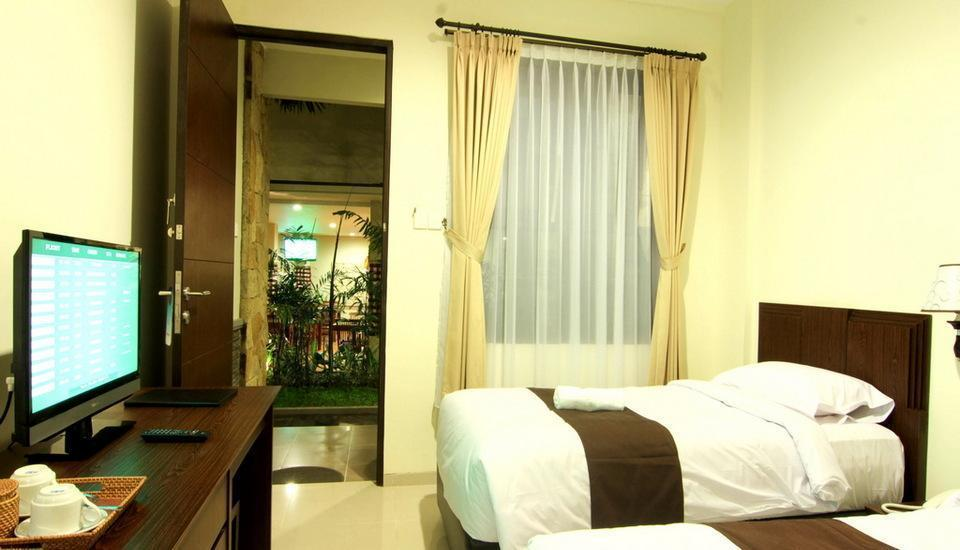 Manggar Indonesia Hotel Bali - Kamar Utama Pemandangan Taman