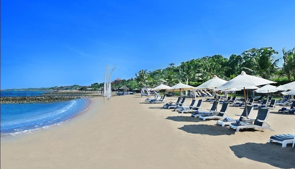 Grand Mirage Resort Bali - Area Pantai